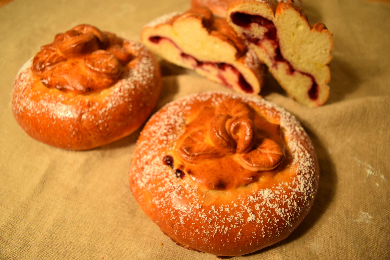 Raspberry Brioche